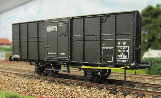 Forum afficher le sujet wagon couvert wd nord sncf - Wagon de train a vendre occasion ...