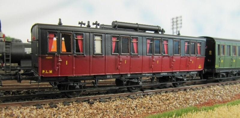 voitures d'express PLM