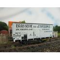 K225  Wagon Brasserie de l'Espérance SNCF  Tampons-secs