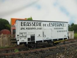 K225  Wagon Brasserie de l'Espérance SNCF