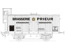 K256 - Wagon à bière type EL/AL à vigie