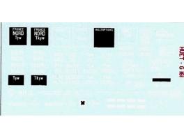 D939 - Déco pour tombereau TP Fleischmann