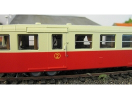 A239 rambardes photogravées pour autorail X5500/5800 Rail87