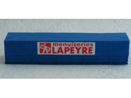 Caisse mobile bachee Lapeyre