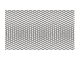 A256 plaque tole antiderapante gaufree 160x100