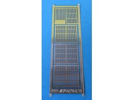 Grilles fines pour fenêtres de compartiment fourgon B4D/C4D