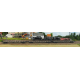 K234    Wagon plat à ranchers à bogies OCEM