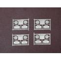 1 jeu de plaques en maillechort pour 63500