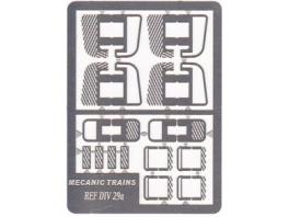 MT-DIV29 Marchepieds nez-cassés