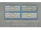 4 plaques constructeur pour BB66000/66400