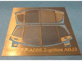 2 calandres photogravées pour ABJ3 Electrotren