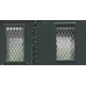 16 grilles fines pour fourgons maillechort 1/10è