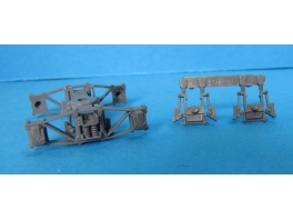 A277 2 paires de sabots de frein pour bogies WD