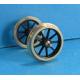 Pack économique de 20 roues à 9 rayons de 12mm seules