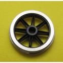 4 roues P87 à 8 rayons ouverts de 12mm seules