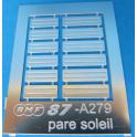 A279 pare soleil pour locomotive ou autorail