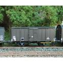 K281  Wagon couvert 20t Nord bois