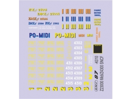 D812 marquages Z4300