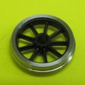 4 roues P87 à 9 rayons de 12mm seules