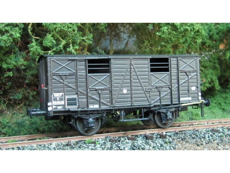 k279 wagon couvert type ouest 1904 etat sncf amf87. Black Bedroom Furniture Sets. Home Design Ideas