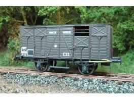 K277 wagon couvert court Etat/SNCF