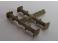 4 tampons OCEM/Nord pour wagons à plateaux carrés