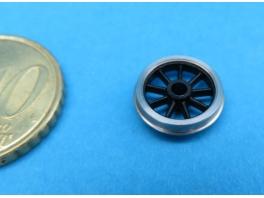 Pack économique de 20 roues P87 à 9 rayons de 10,55mm seules