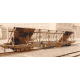 K287 wagon pupitre à bogies PLM