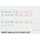 Decalcs pour 141TA Jouef/Kitway version ACFI