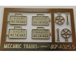 A325 2x jeux de plaques 141TA au choix