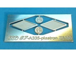 A335 2x plastrons pour Z5100 Budd