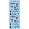 Decalcs publicités pour Estafette