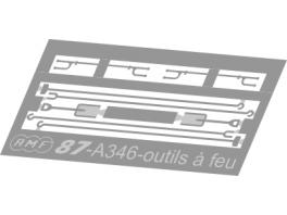 A346 outils à feu maillechort