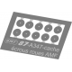 A347 cache écrous roues AMF