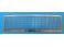 Echelle photogravée maillechort 70cm