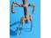 2 cablots d'éclairage électrique collectif Nord + 2 cablots de chauffage vapeur en bronze