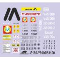 D715 marquages Y9100 51100 SNCF V45 DB