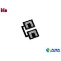 2 plaques GABARIT réflectorisées Ara