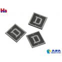 3 plaques D voie de dépôt Ara