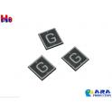 3 plaques G voie de service Ara