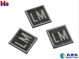 3 plaques LM limite de manoeuvre Ara