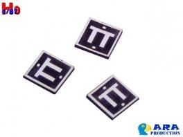 3 plaques TT Ara