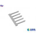 5 flèches blanches Ara