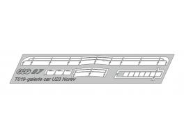 T019 Transkit galerie autocar type 23 Citroen Norev sortie 08/2019
