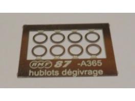 A365 8 hublots de dégivrage diam3,6mm