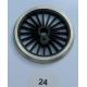 R409 2 roues motrices vapeur 24mm