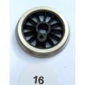 R402 2 roues motrices vapeur 16mm