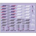 60 logos SNCF  casquettes  tricolores  blanc et gris,