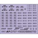 Déco Y8000/8400 Roco
