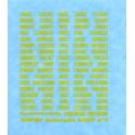 Planche n°2 pour autorails (50 noms de dépôts)